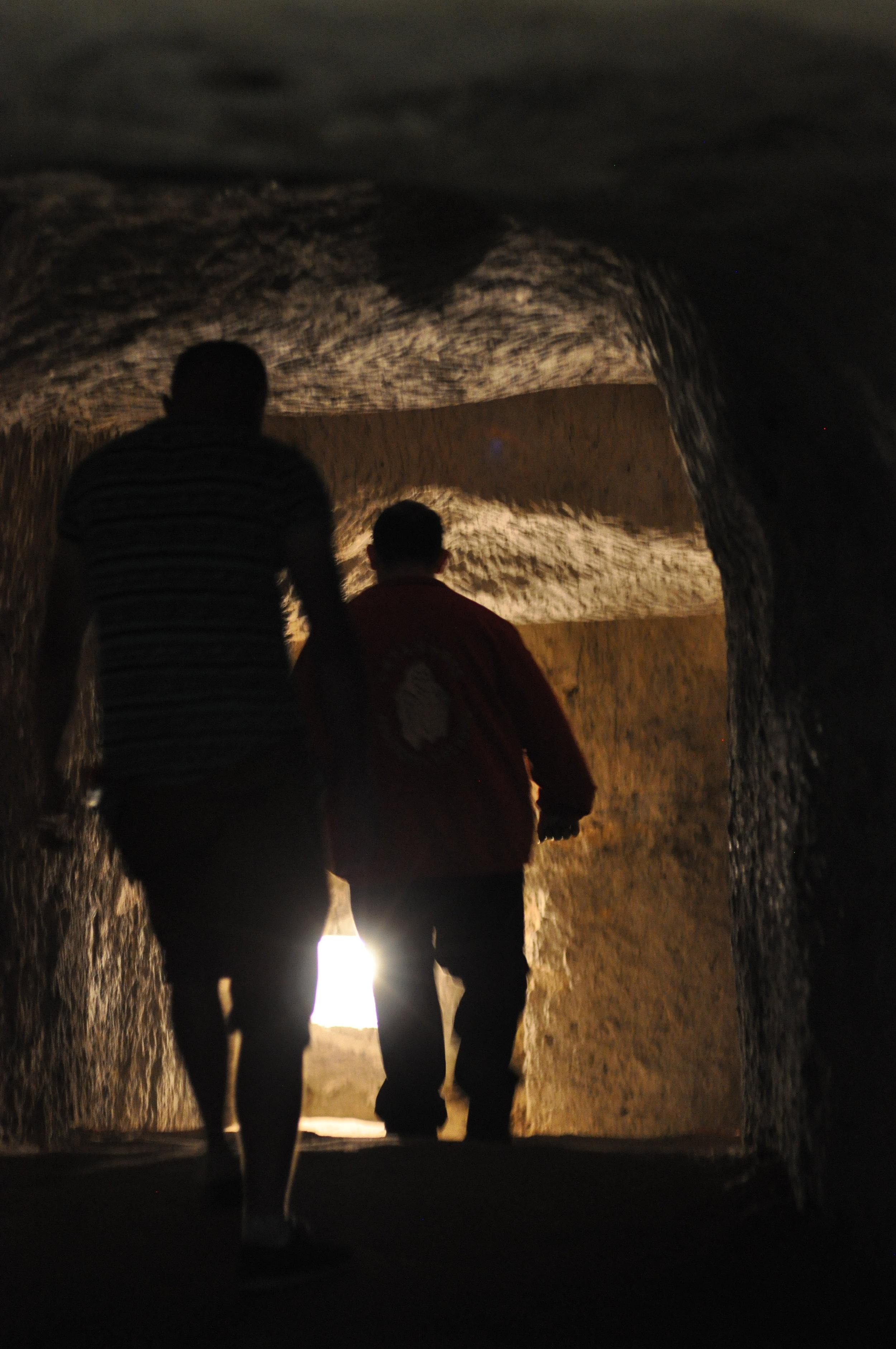 Inside the Chalk Mines in Chelm, Poland
