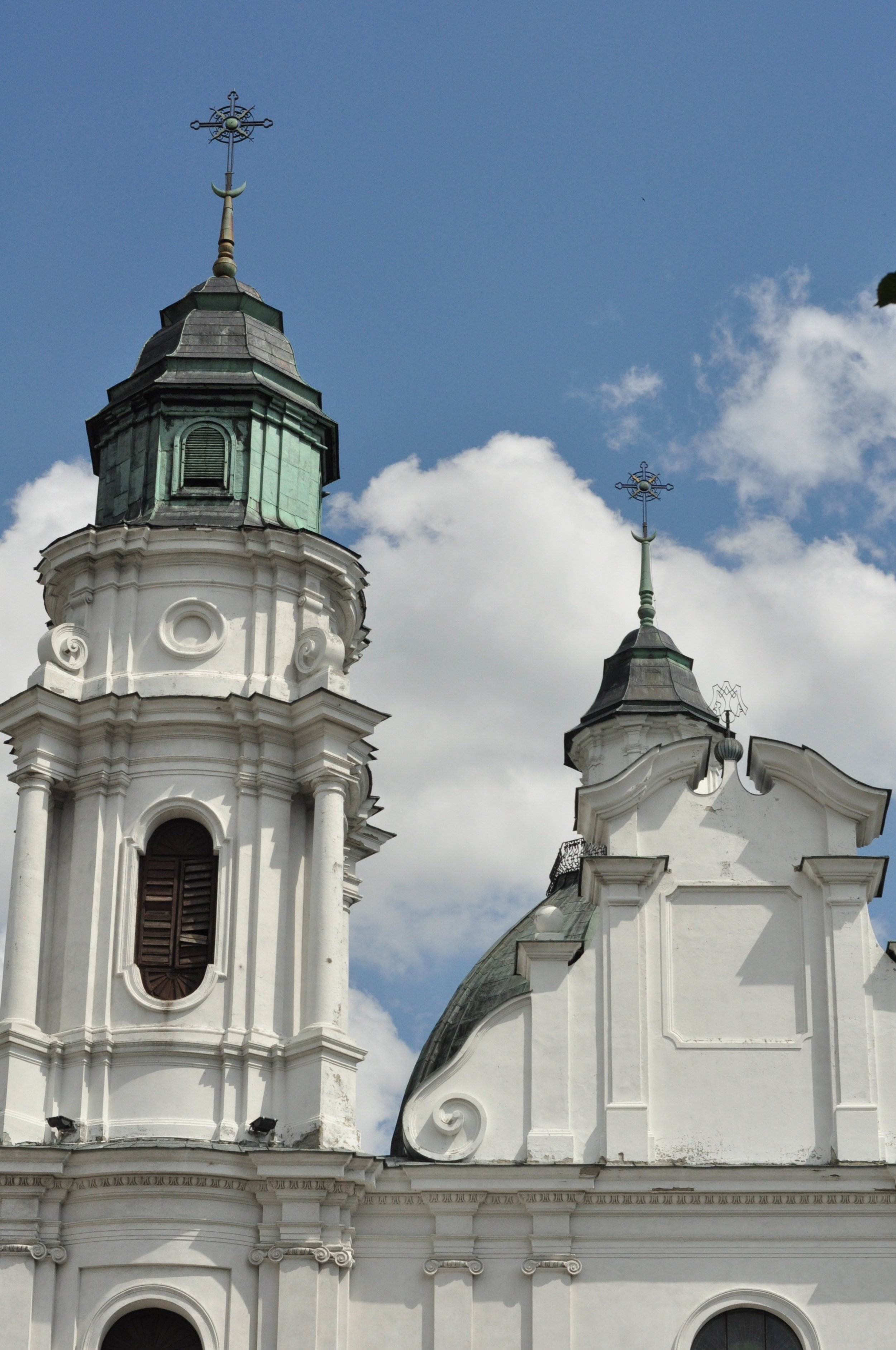 Chelm, Poland Cathedral Towers