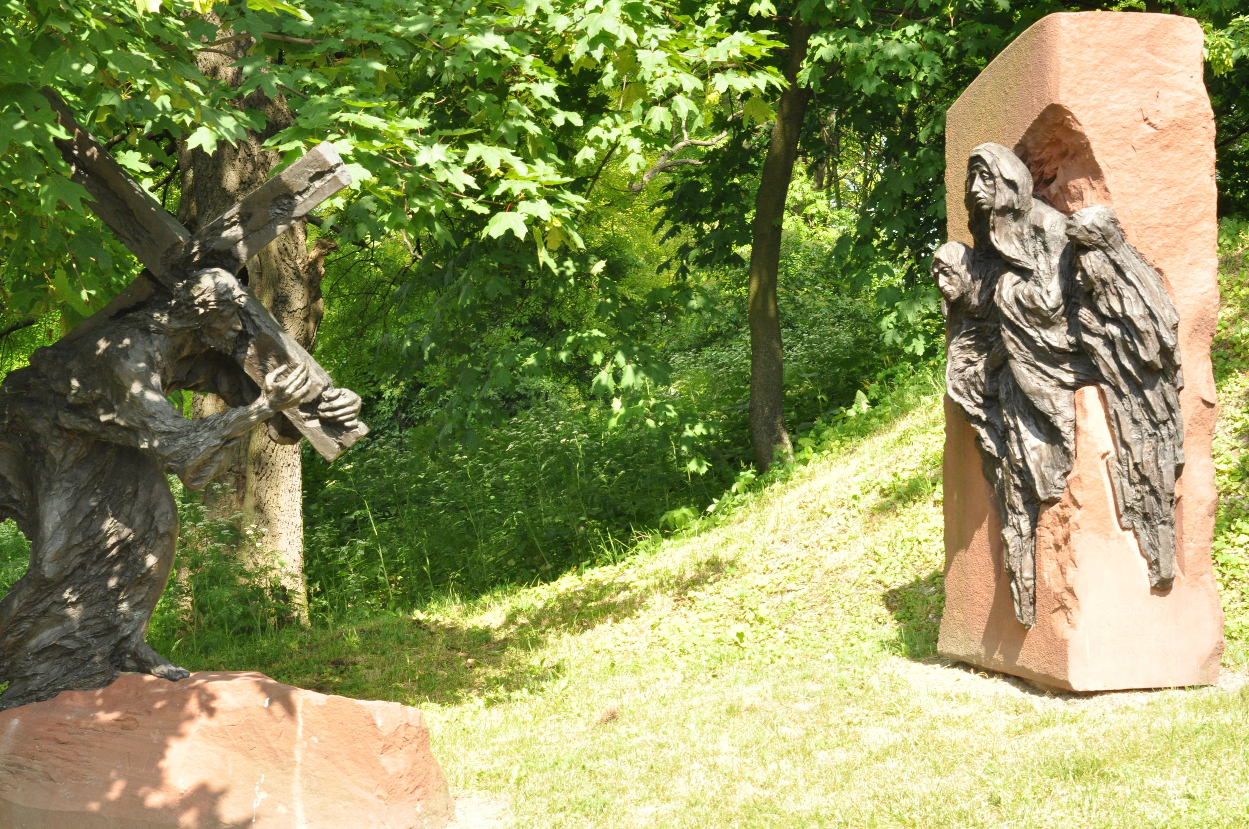 Stations of the Cross in Chelm, Poland