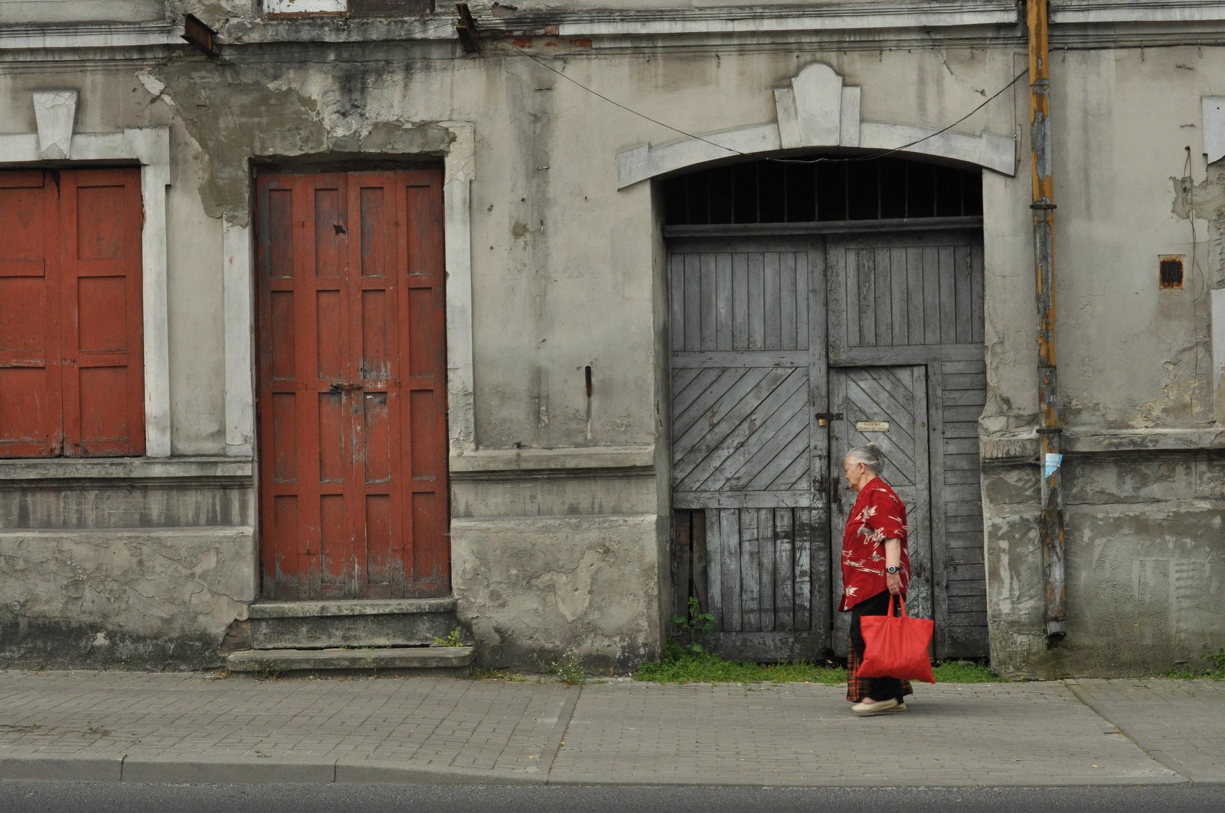 Street scene in Chelm, Poland