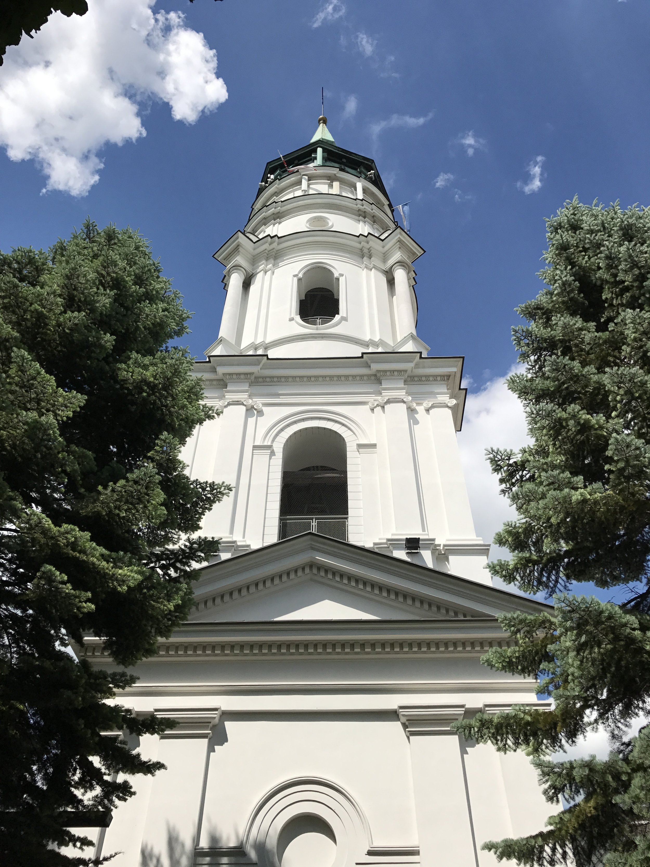Belfry Tower in Cathedral Complex in Chelm, Poland