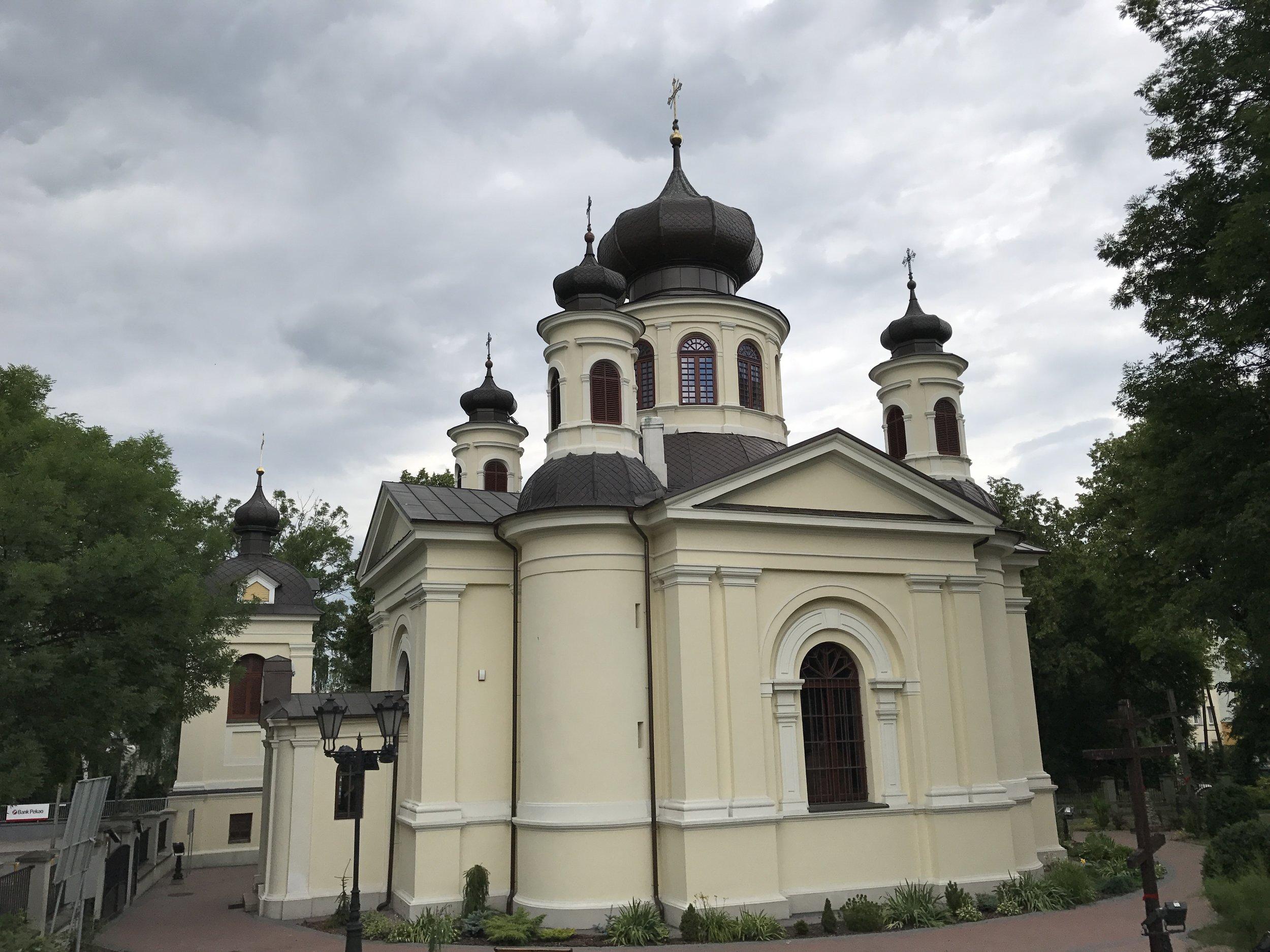 Church in Chelm, Poland