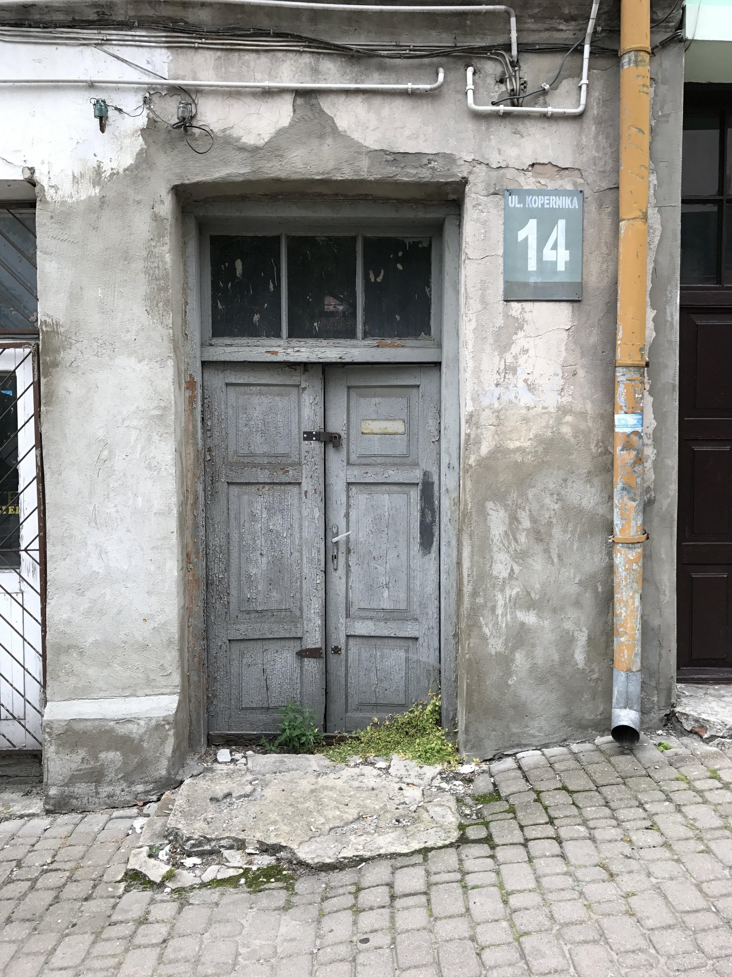 Door in Chelm, Poland