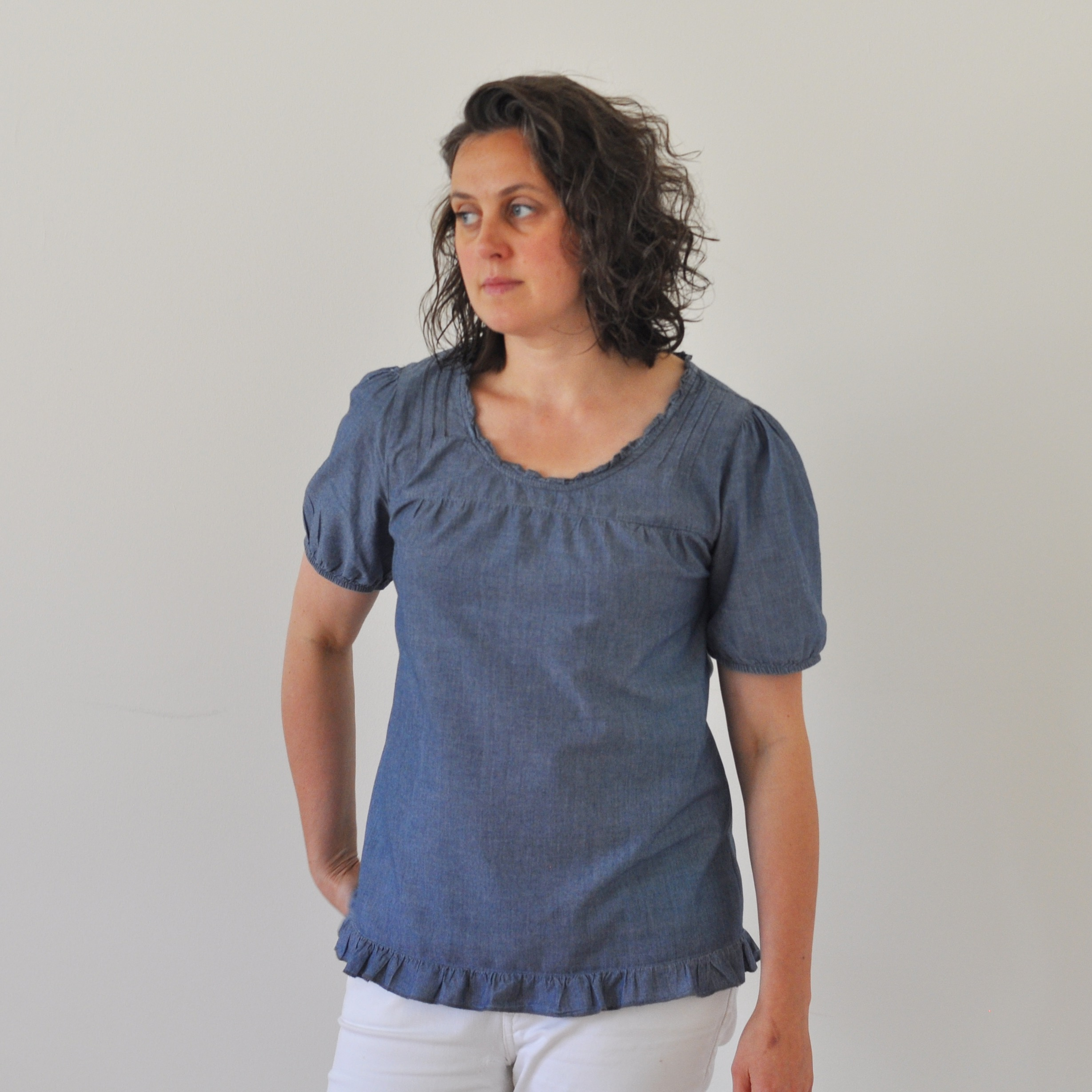 Refashioned thrift store shirt