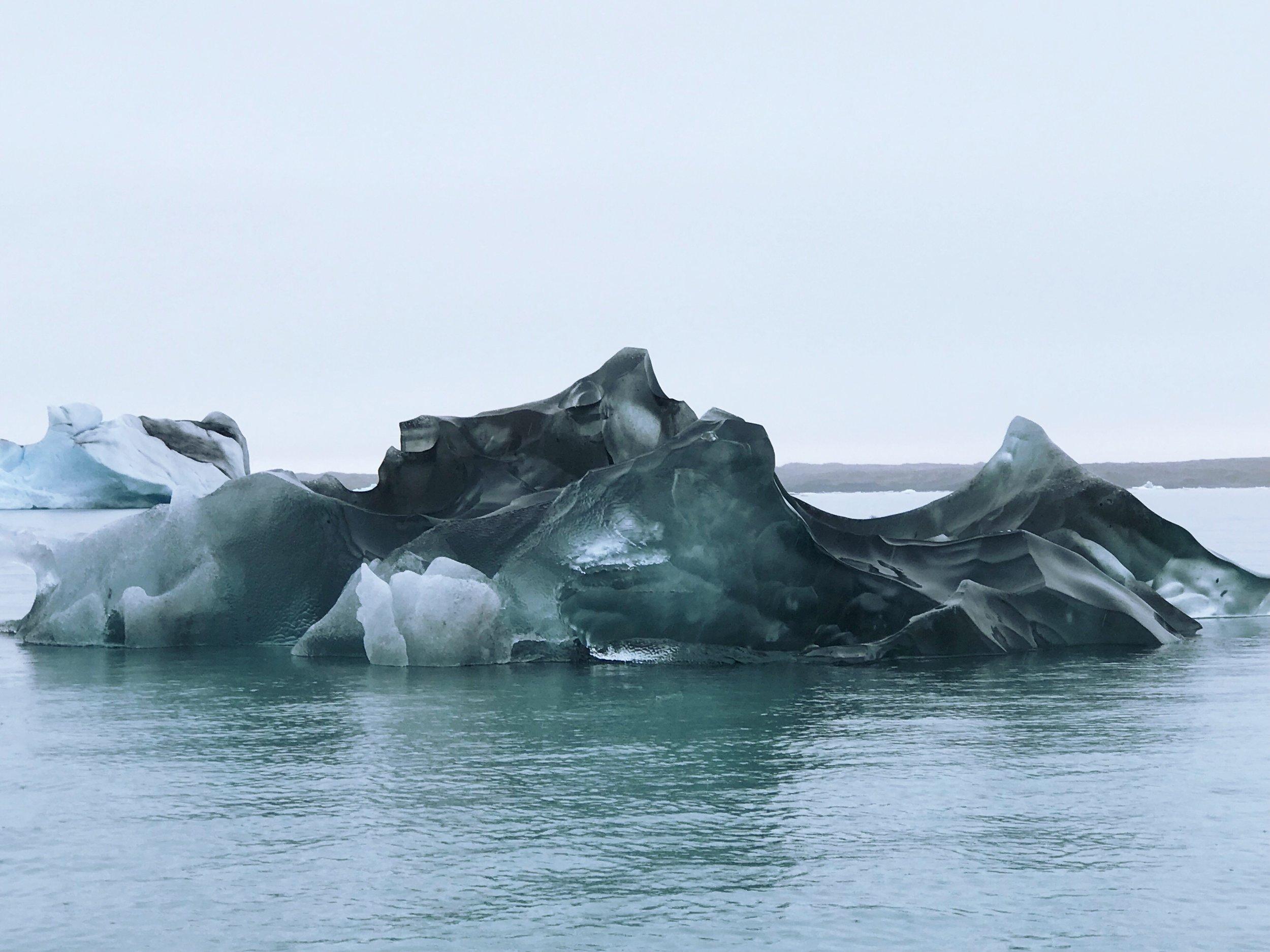 Iceberg in Glacier Lagoon, Iceland