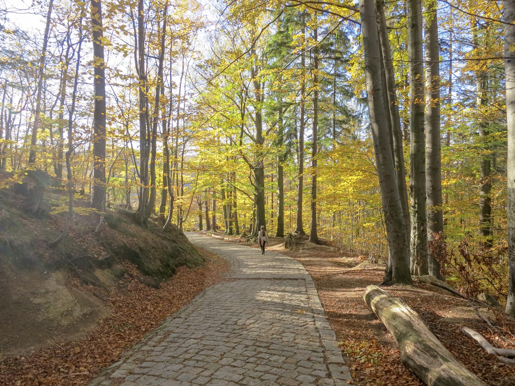 Hike to Chojnik Castle, Jelina Gora, Poland