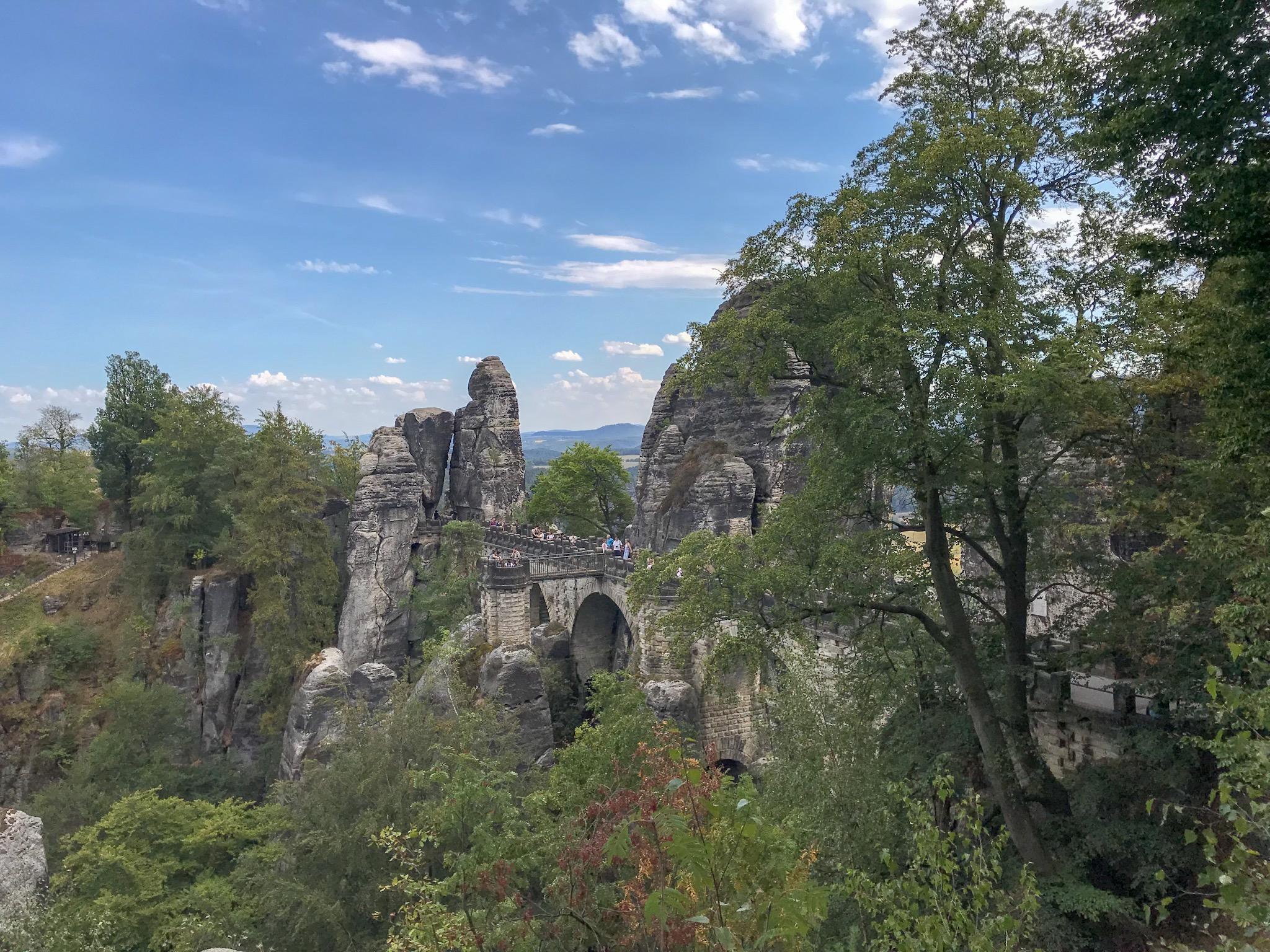 Bastei Bridge, Saxon Switzerland National Park, Germany