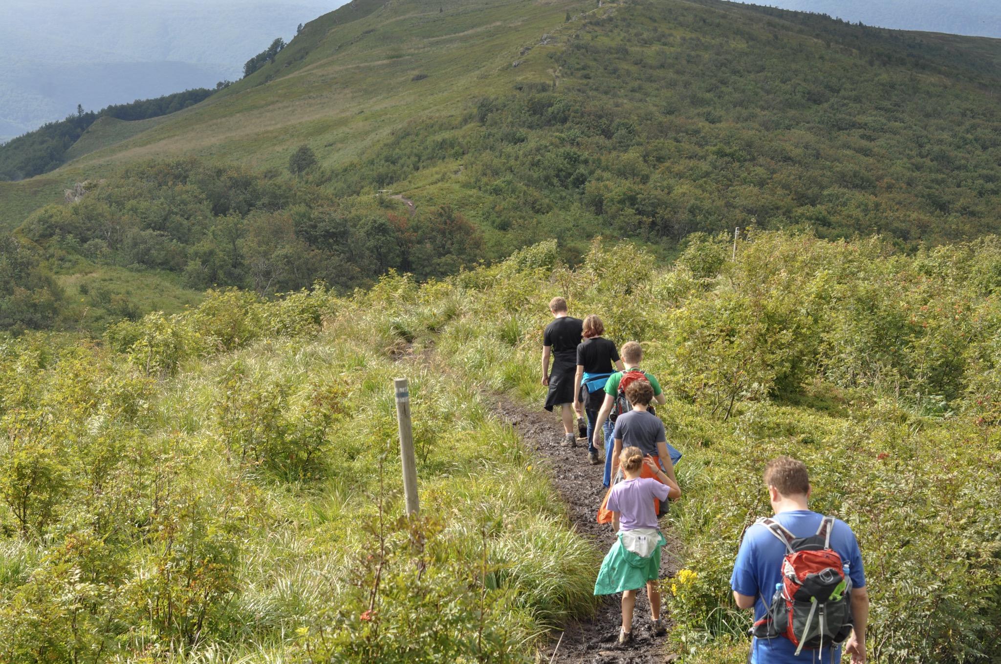 Hike to Bukowe Berdo, Bieszczady Mountains, Poland