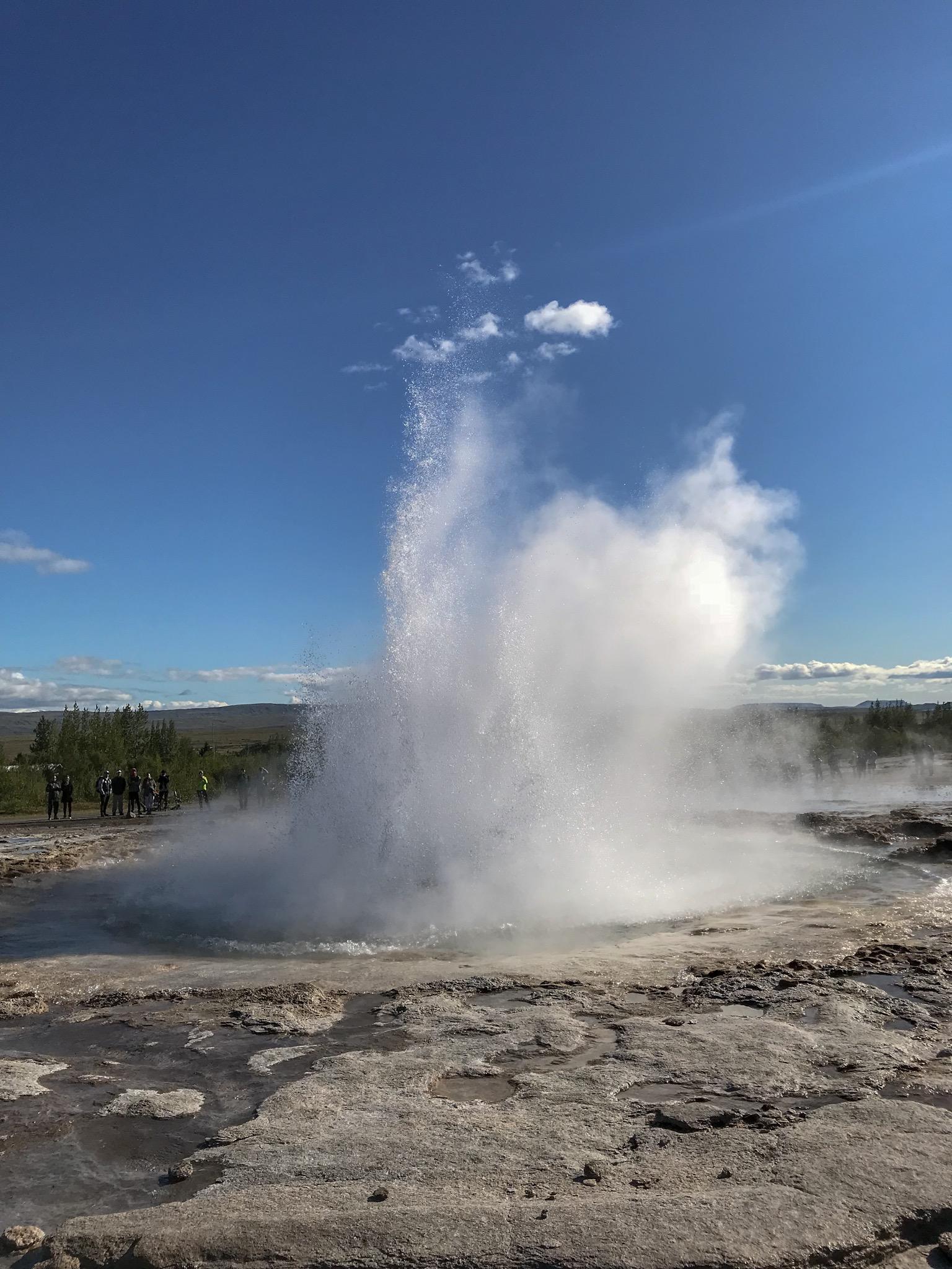 Haukadalur Geothermal Area, Iceland