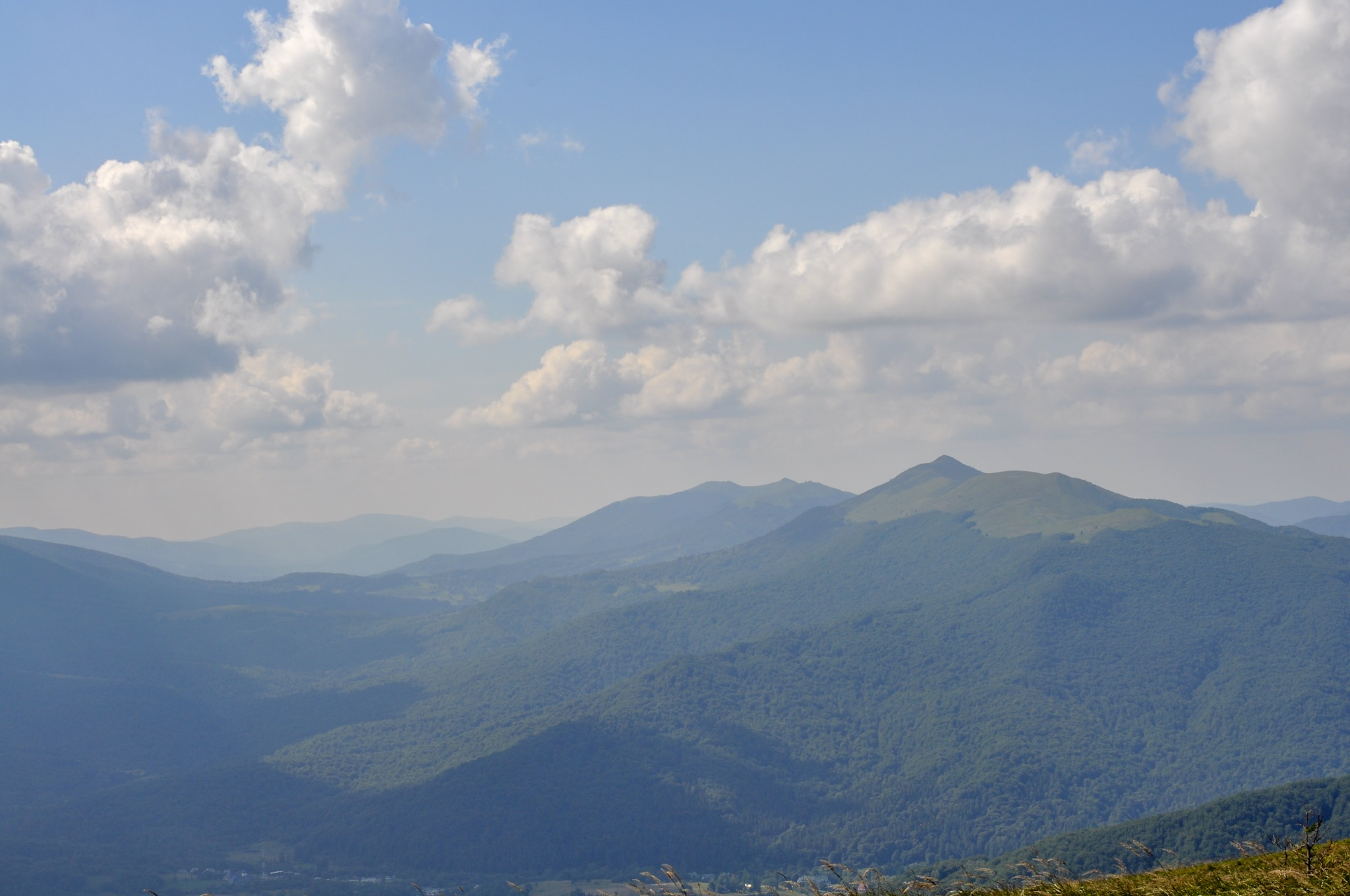 Moutain views from Tarnica summit