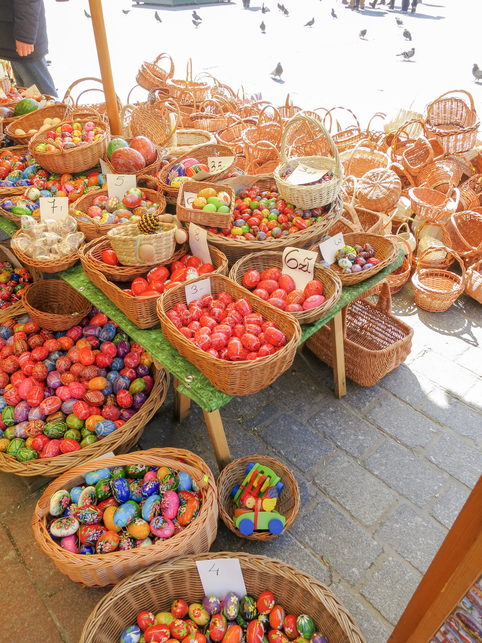 Pisanki and Easter Baskets at Krakow Easter Market