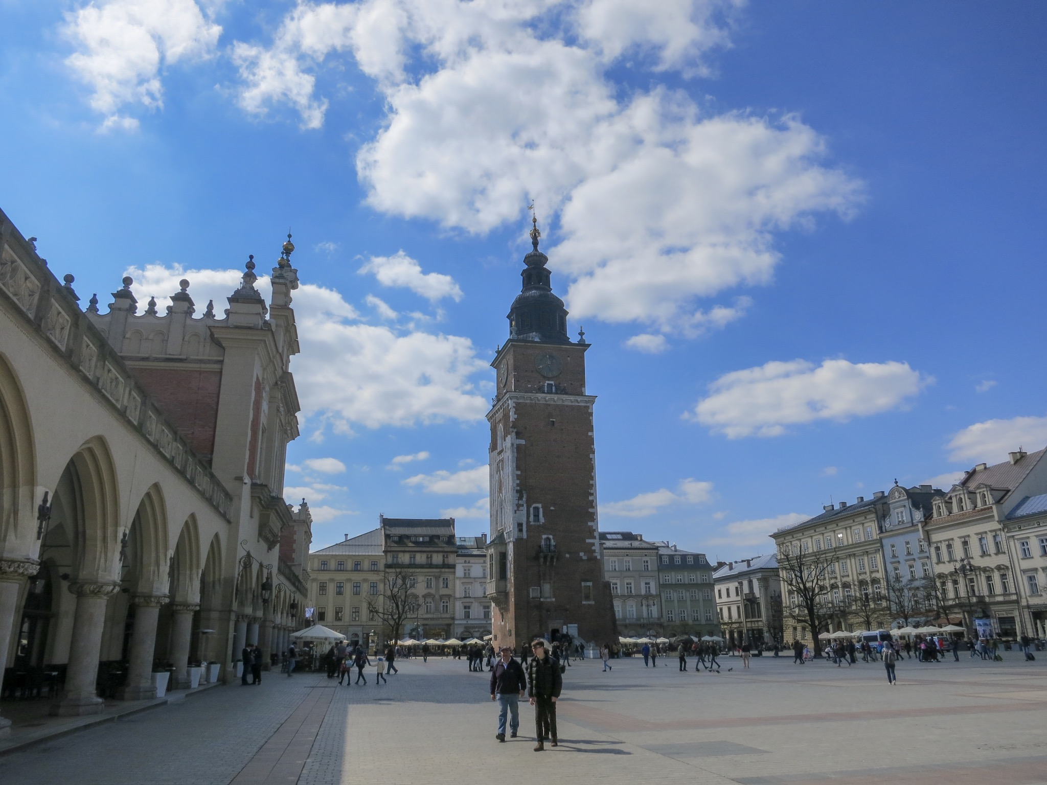 Krakow Rynek & old Town Hall Tower