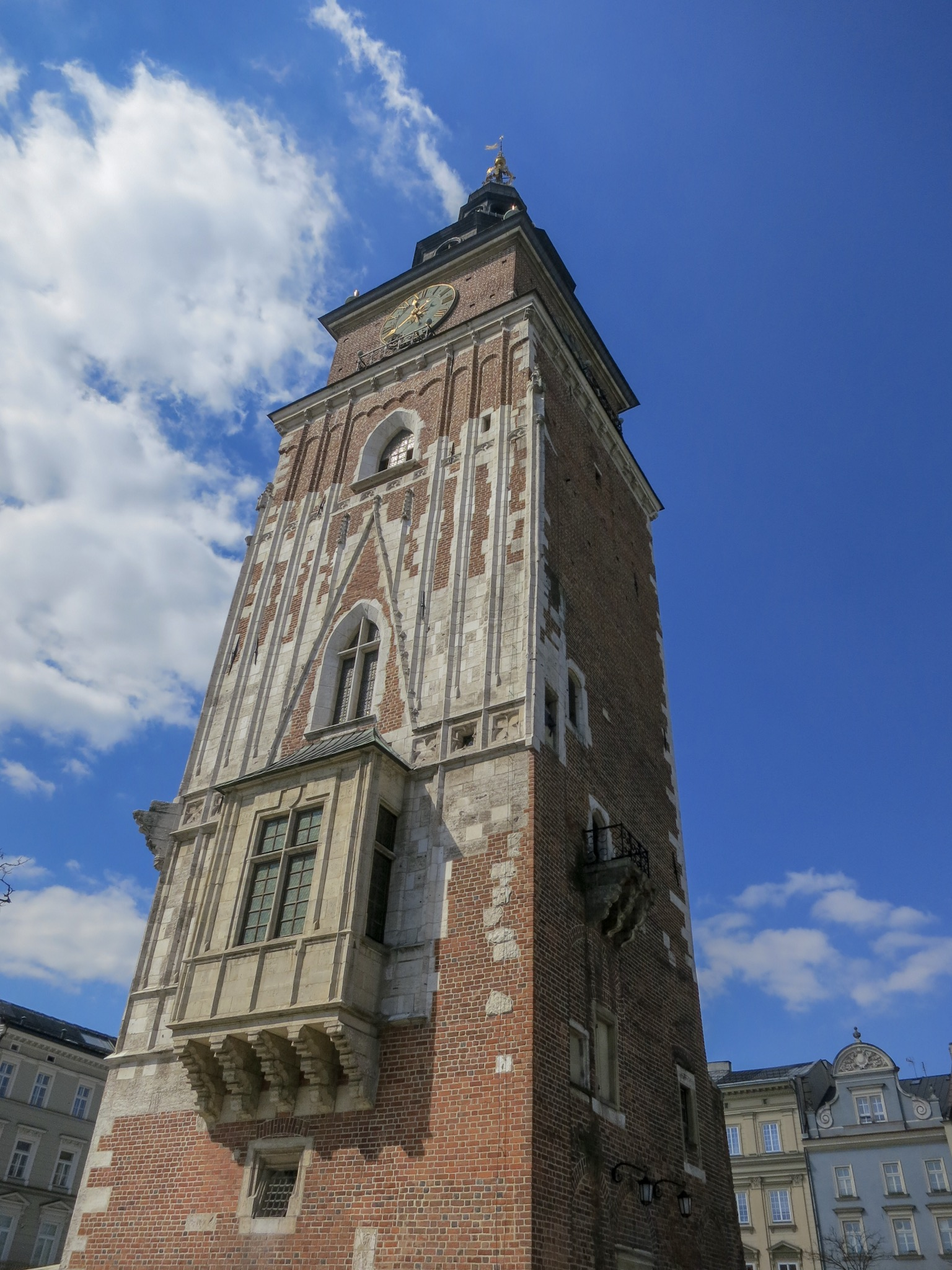 Krakow's old Town Hall Tower