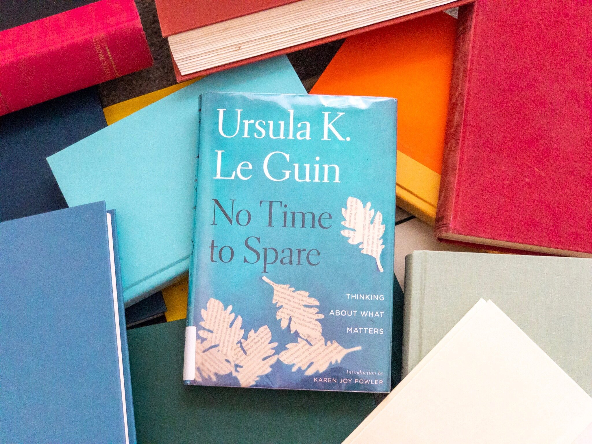 No Time to Spare, a book by Ursula K Le Guin