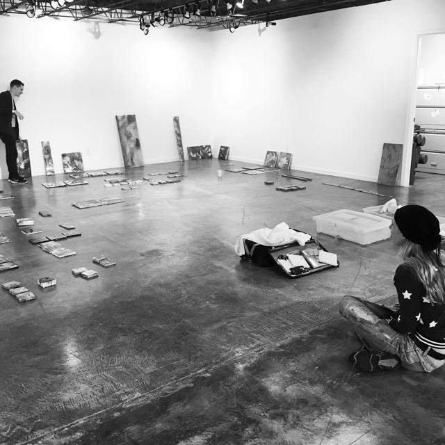 Selection process with Jacob at Basin Arts.