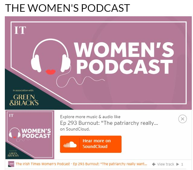 The Woman's Podcast from The Irish Times - Ep 293 Burnout: