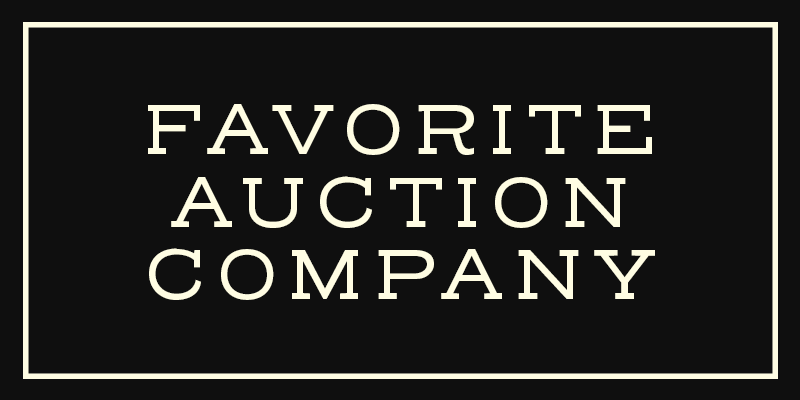 Auction every Saturday! -