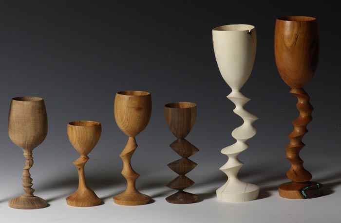 """I've always been fascinated by goblets"" -"