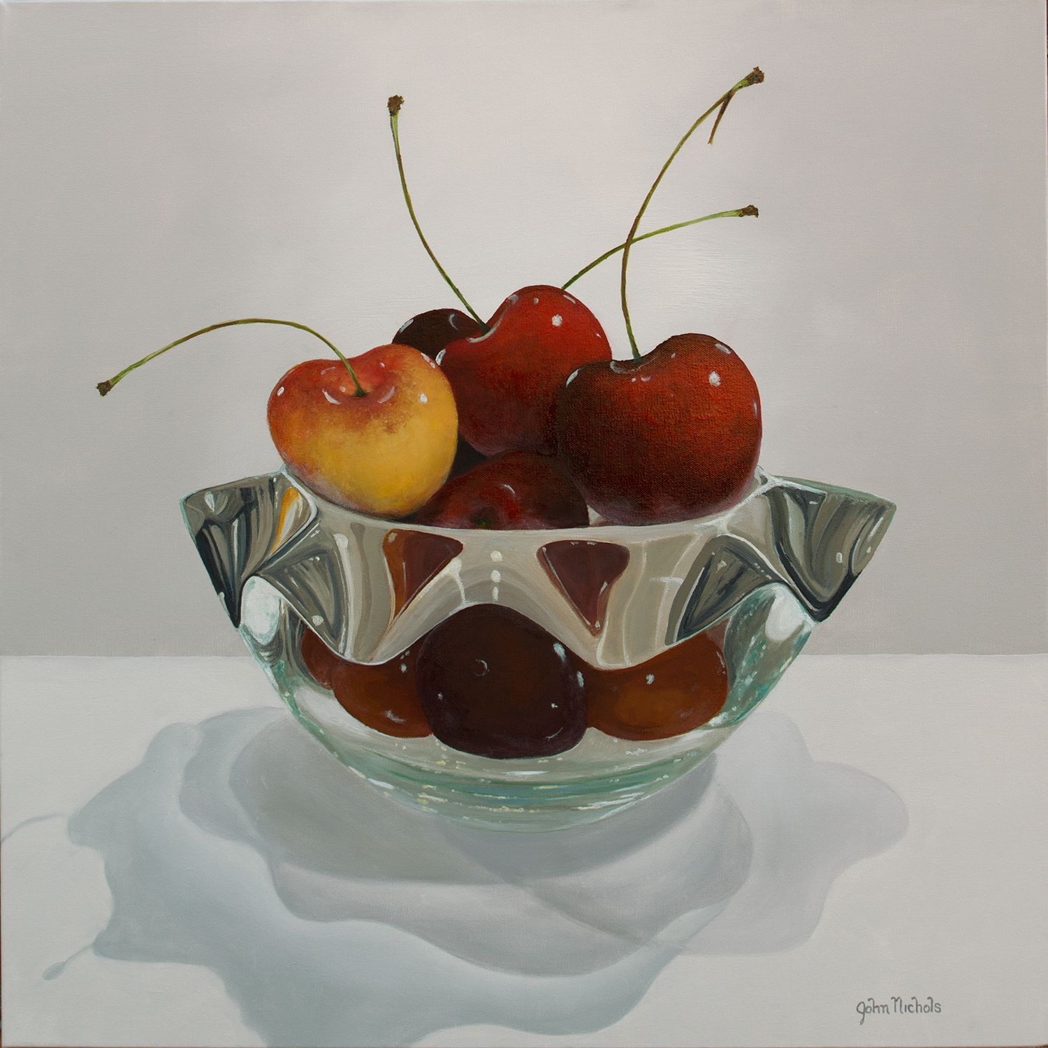 Life is Just a Bowl of Cherries , Oil by John Nichols