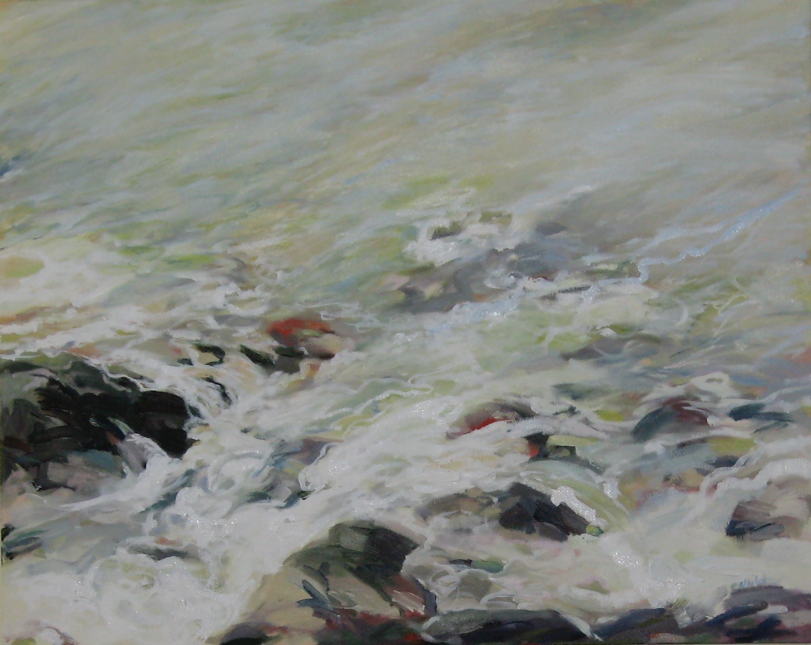 """Wave #14, 30 x 24"""" (sold)"""