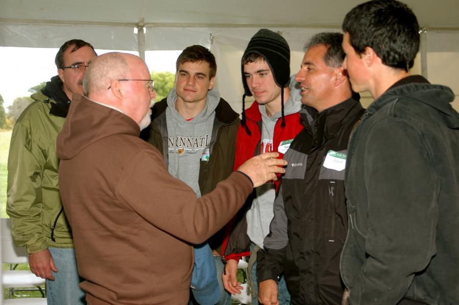 Richard Rohr speaking to men