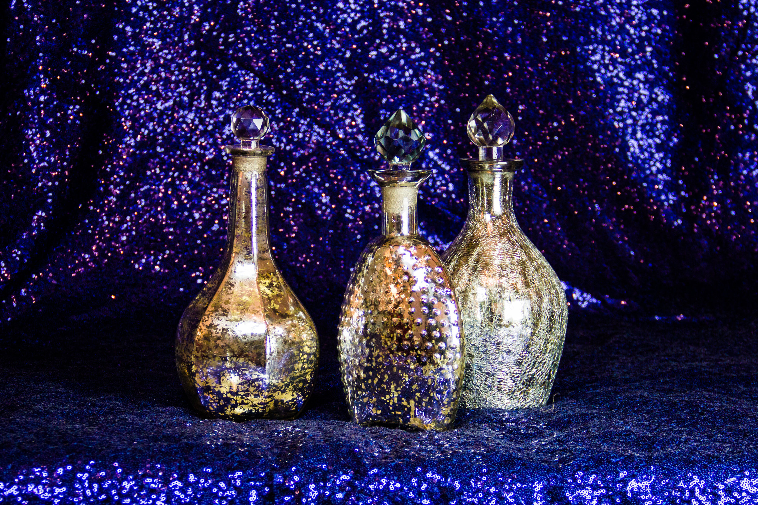 Decorative Mercury Vases
