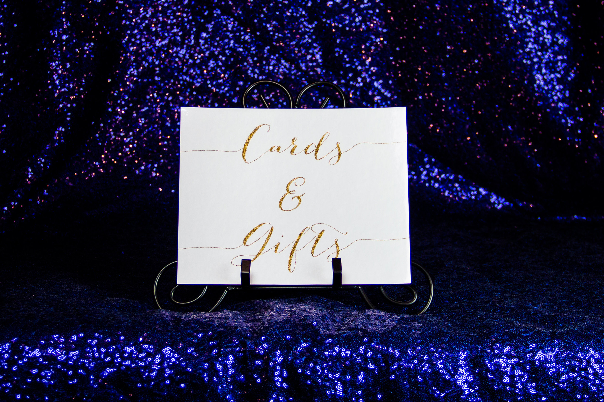 """""""Cards & Gifts"""" Sign"""