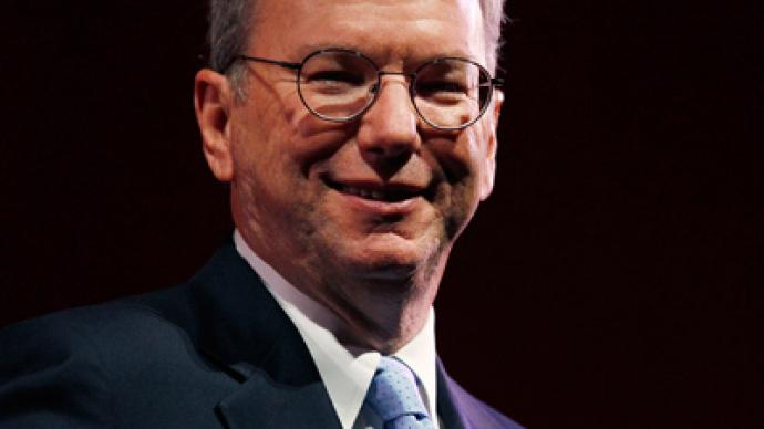 """Ex-Google/Alphabet chairman Eric Schmidt. As Julian Assange of Wikileaks has once stated, """"Google is not what it seems."""""""