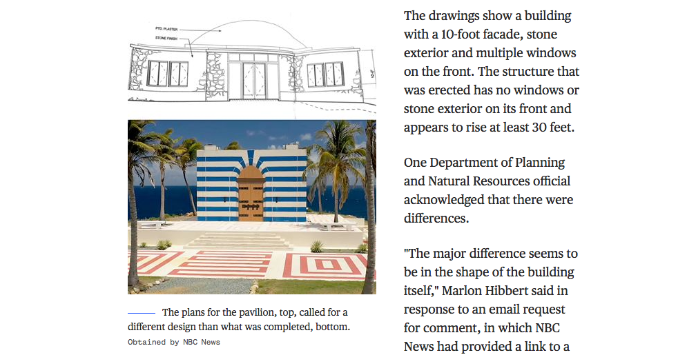 """""""Conspiracy theory"""" no more — NBC News is covering the Epstein """"temple"""" in-depth"""