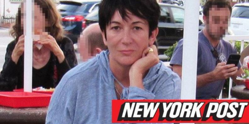 "Waiting for a burger at In-N-Out, Ghislaine Maxwell is just like the rest of us when she's not ""procuring"" children for billionaires to rape and torture. Allegedly."