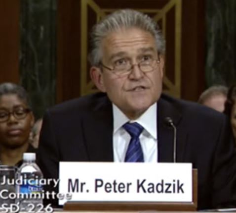 Former top DOJ official Peter Kadzik is reportedly still very close with the Podesta family.