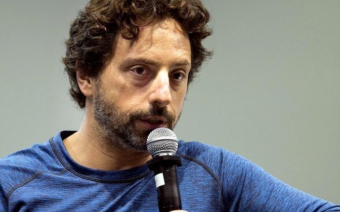 Sergey Brin, Google co-founder and close friend to deceased billionaire child molester Jeffrey Epstein.