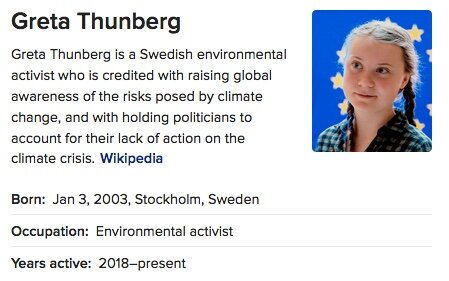 We can't trust Thunberg, researchers warn.