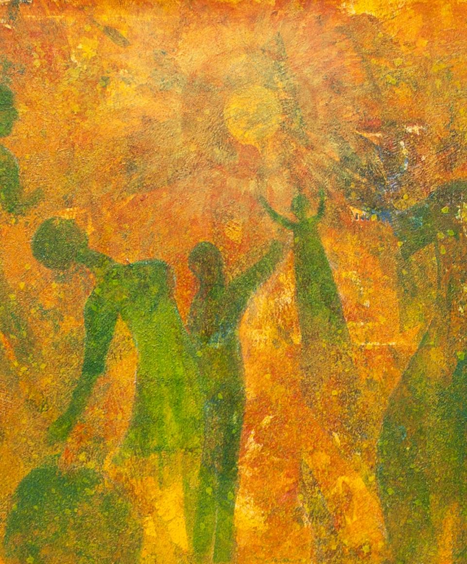 Dancin' in the Sunlight  (detail), by Ranjana