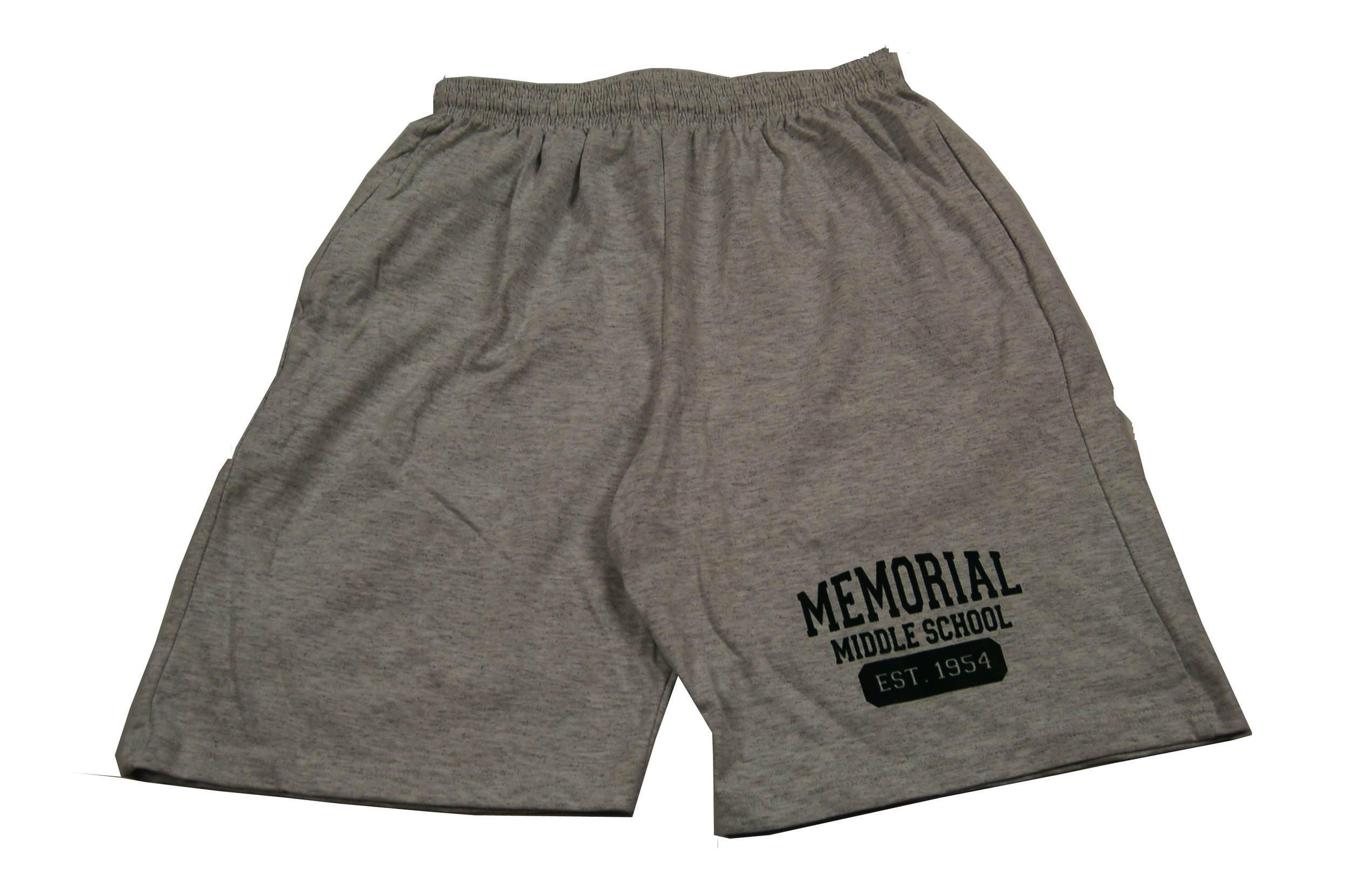 Memorial Middle School shorts.