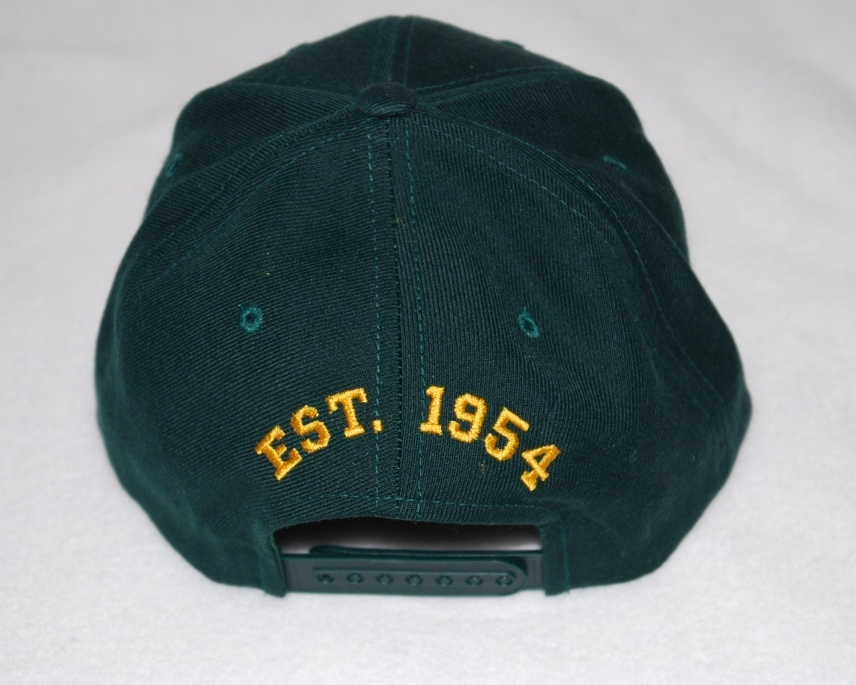 Memorial Middle School embroidered cap (back).