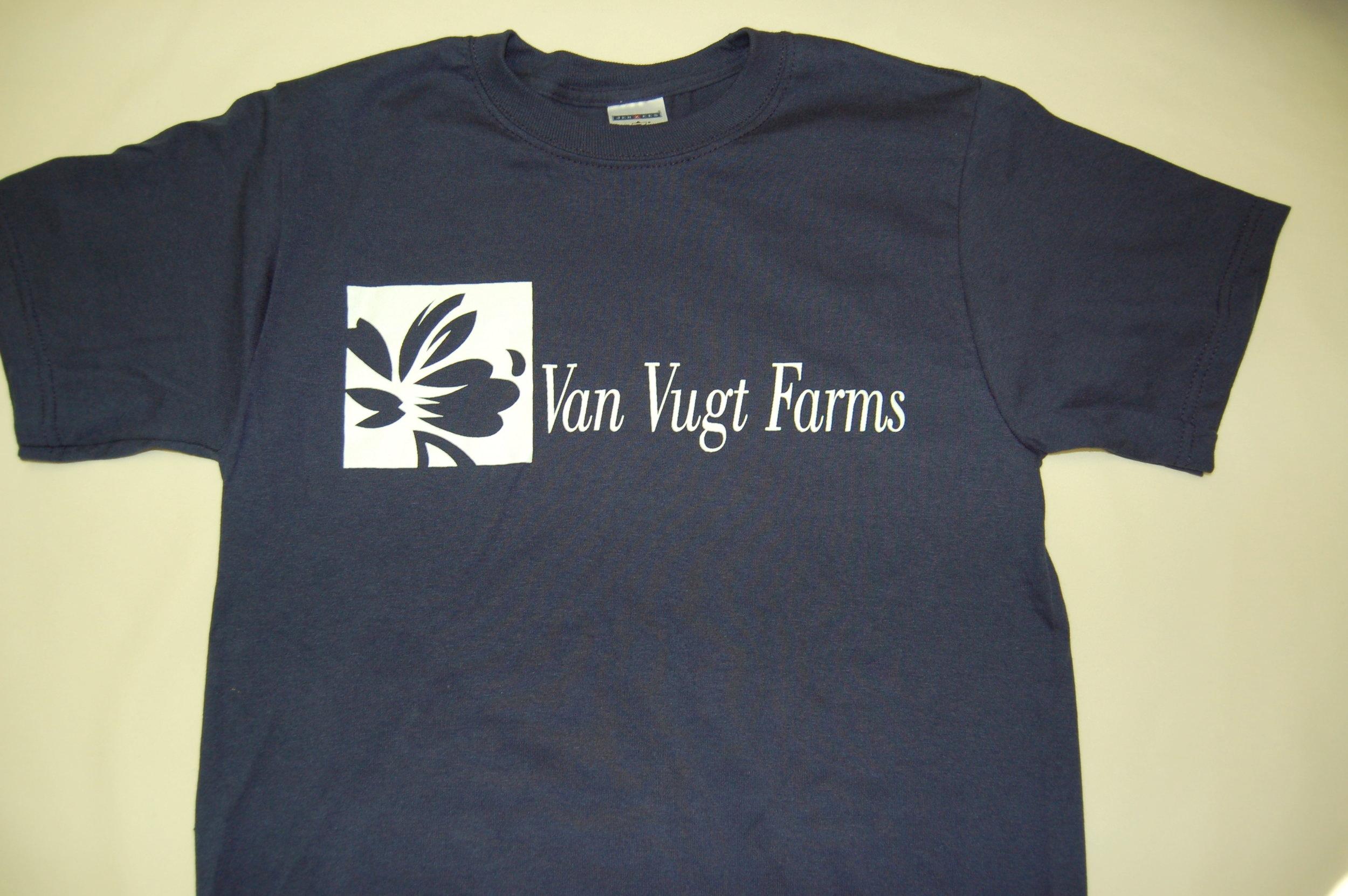 Van Vugt Farms navy front.JPG
