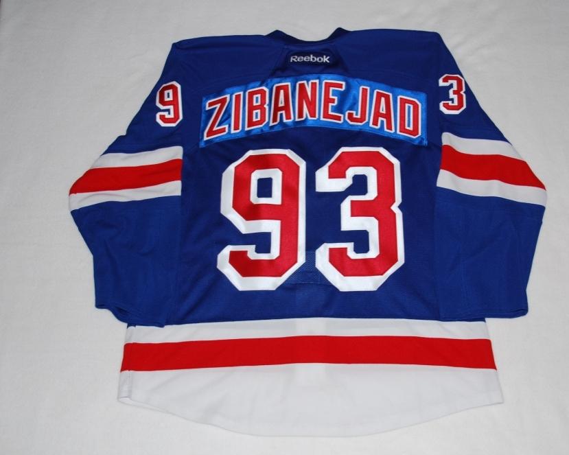 NY Rangers - ZIBANEJAD 93