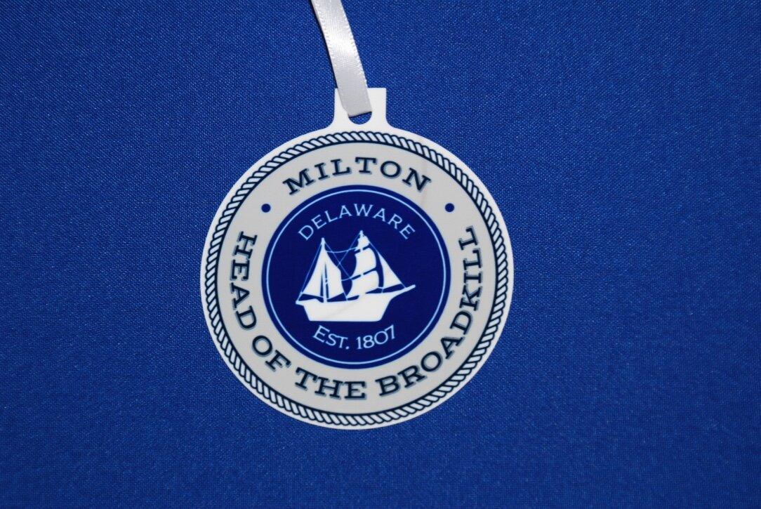 Milton aluminum ornament