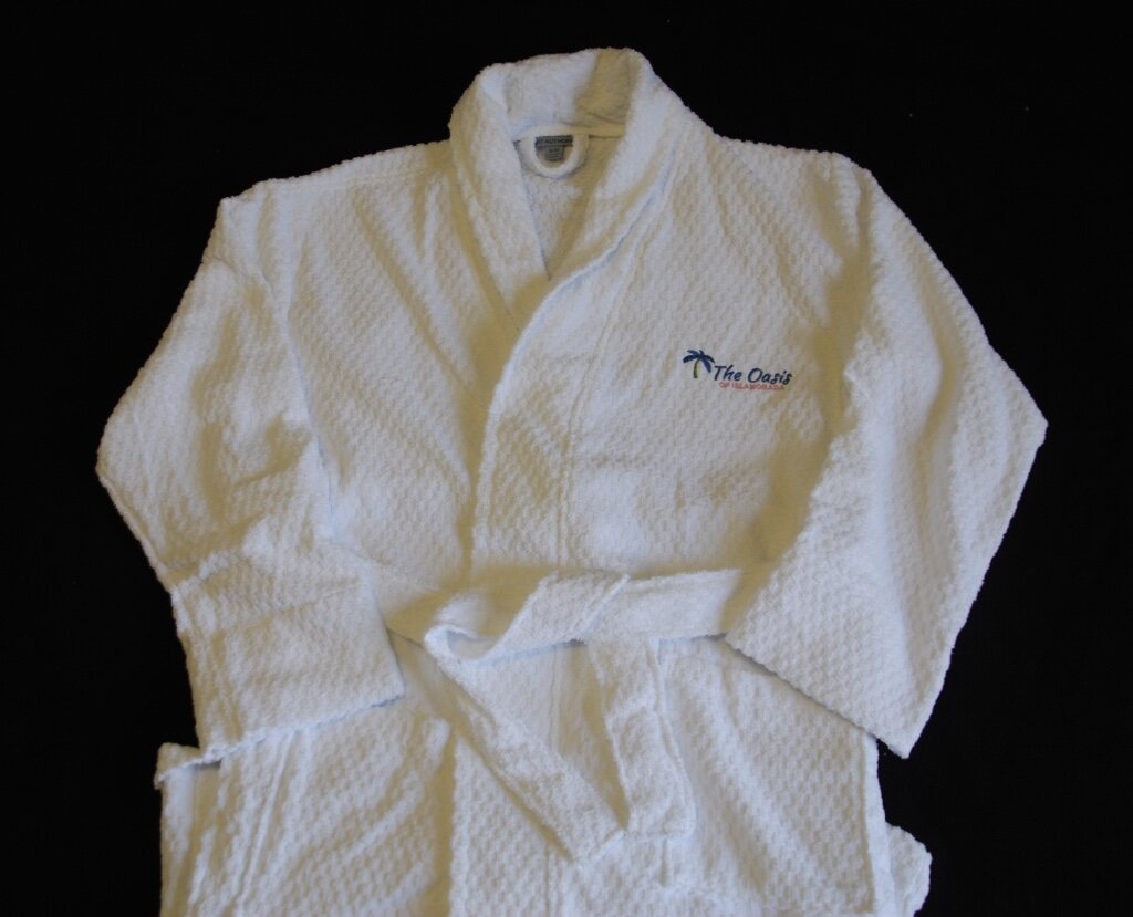 The Oasis personalized robe