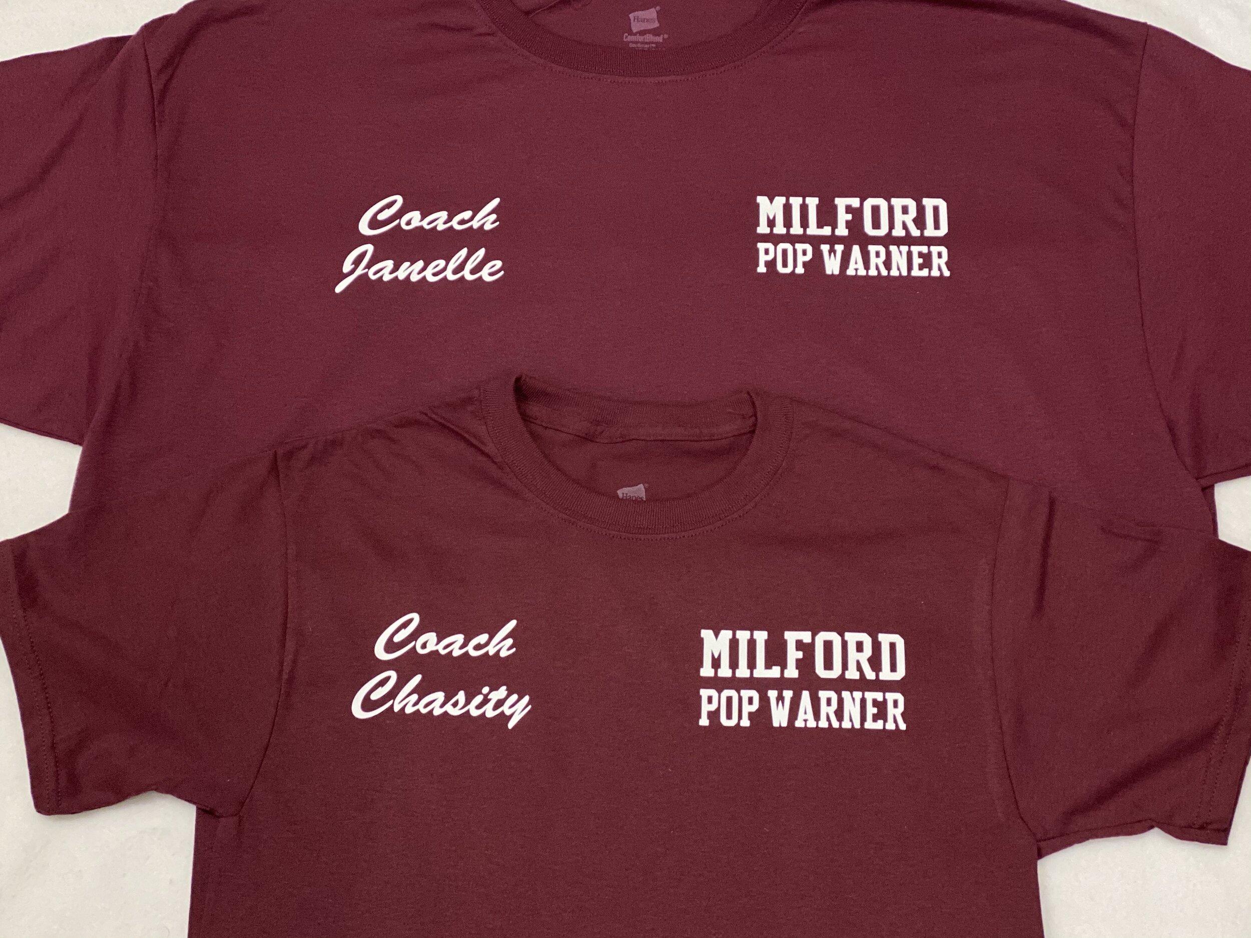 Milford Pop Warner Cheer
