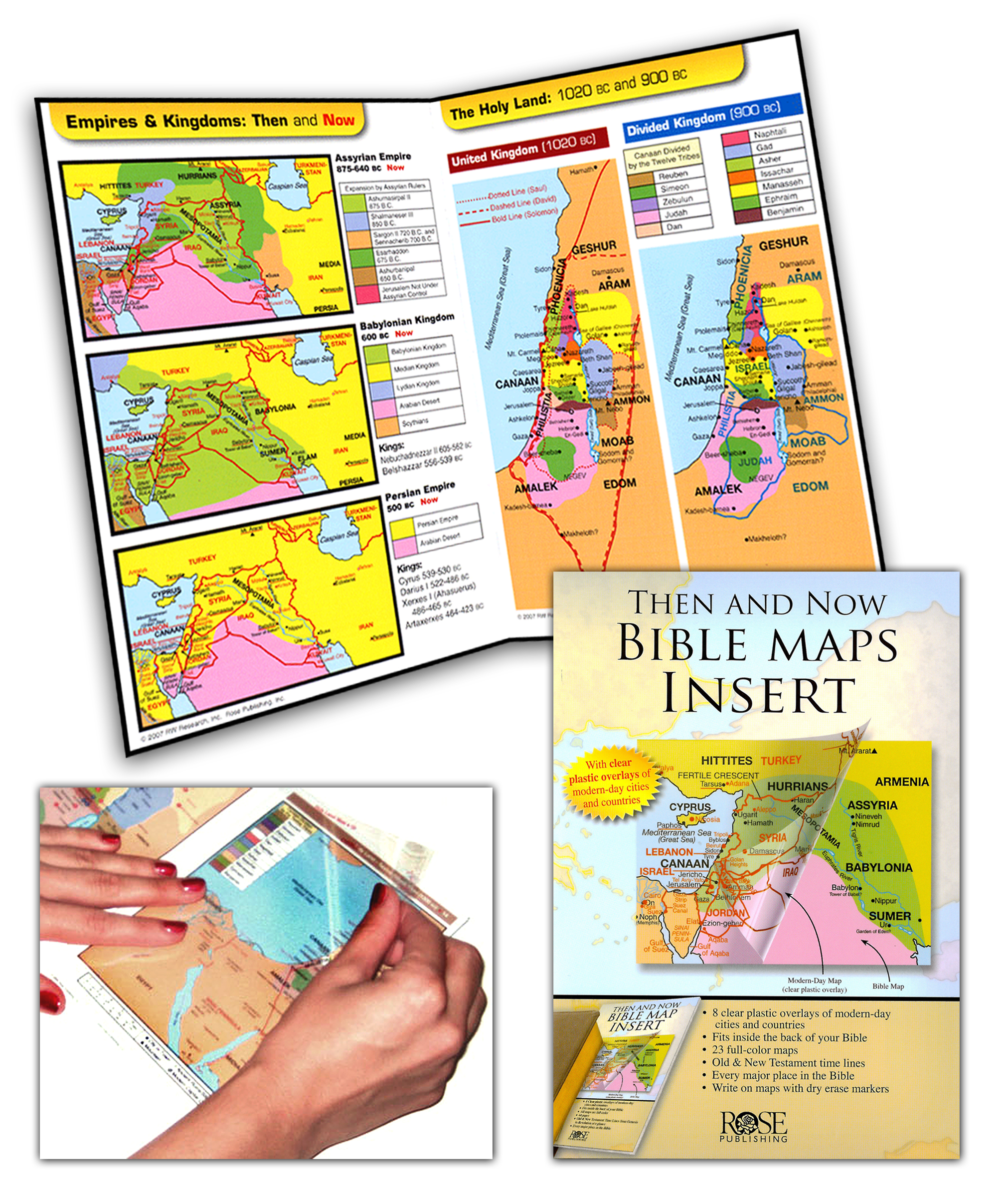 bible maps timelines map