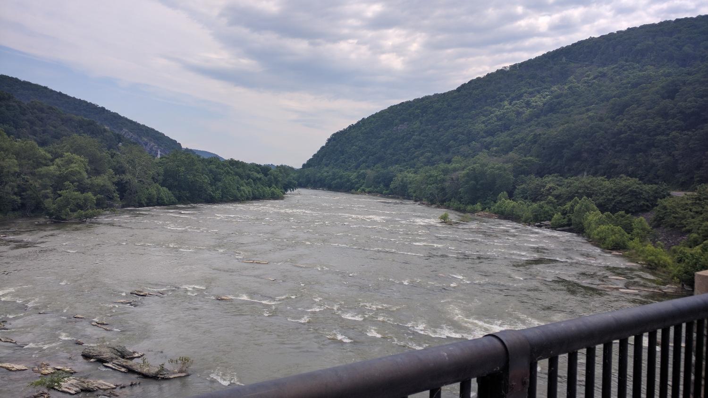Shenandoah river. This is what people aqua blaze down.