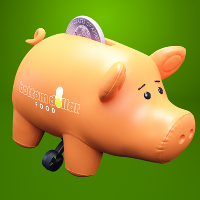 Bottom Dollar Piggy Bank