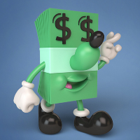Jeremyville Lucky Dollar & Dime