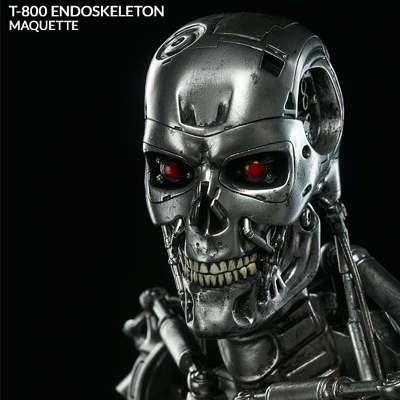Sideshow Terminator Q-Scale Maquette