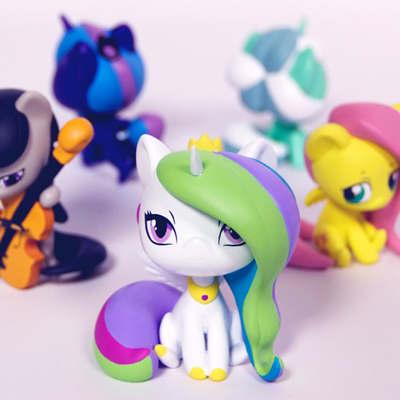 WeLoveFine My Little Pony Chibis
