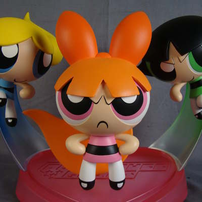 Powerpuff Girls Pitch Model