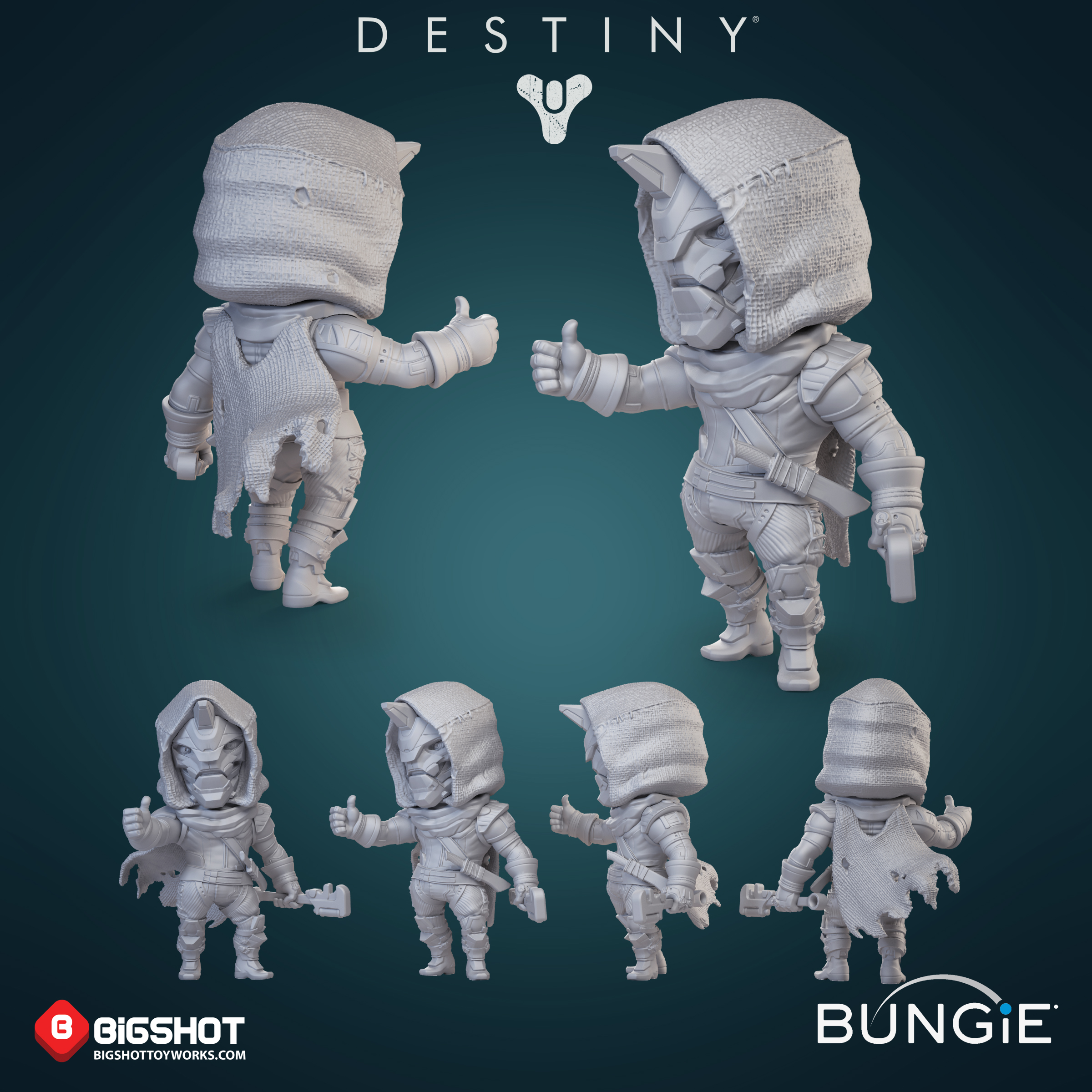 Bungie Destiny Cayde6 sculpture .jpg