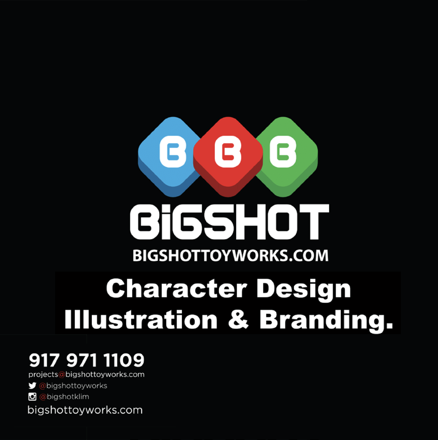 Bigshot Character Design, Illustration & Branding Deck